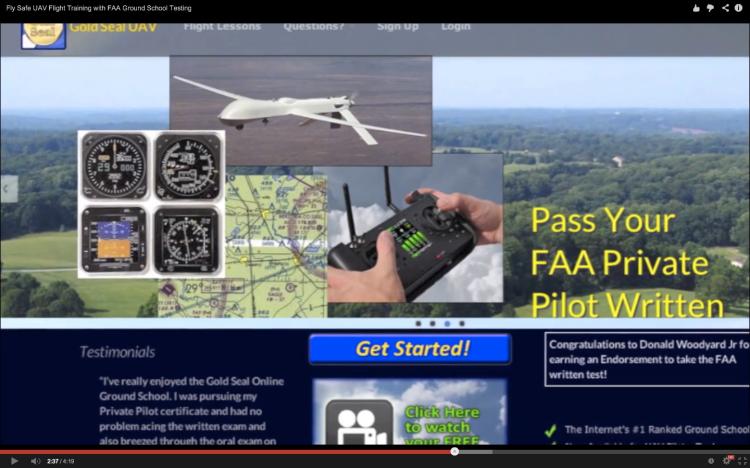 UAV Flight Training