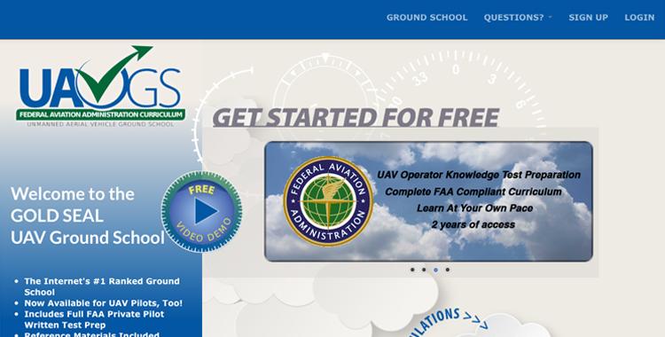 FLYSAFE-UAVGS-Ground-School-Gold-Seal